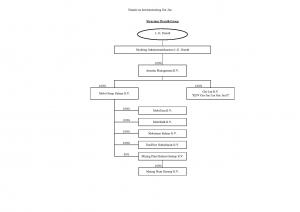 Beoogde structuur LG Drenth (na herstructurering Ger-Jan)